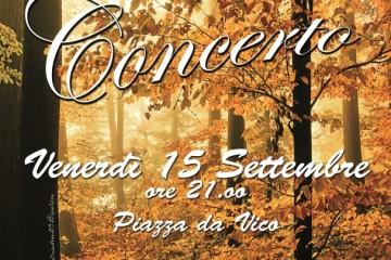 Concerto 15 Settembre 2017