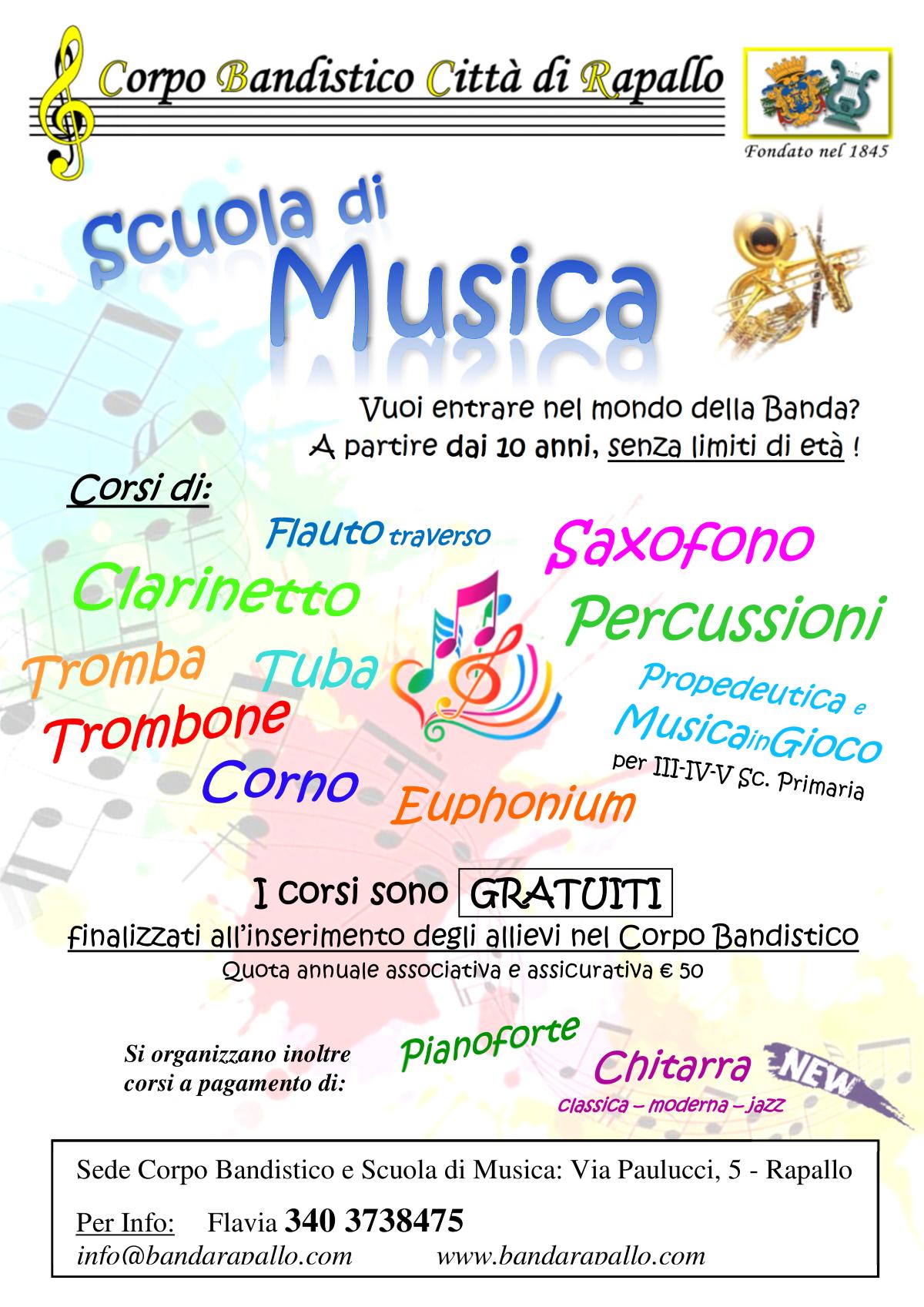 Scuola Banda 2019-2020